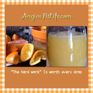 Angie's Orange Juice
