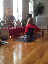 Lauren talks about the enlightenment of meditation
