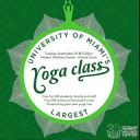 um largest yoga class