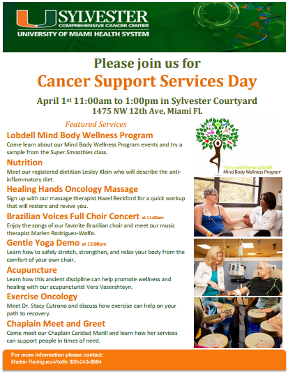 Lobdell Cancer Support Service Day